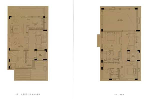 【多图】蔚蓝卡地亚二手房4室3厅3卫245平价格独栋别墅小镇卧龙湖图片