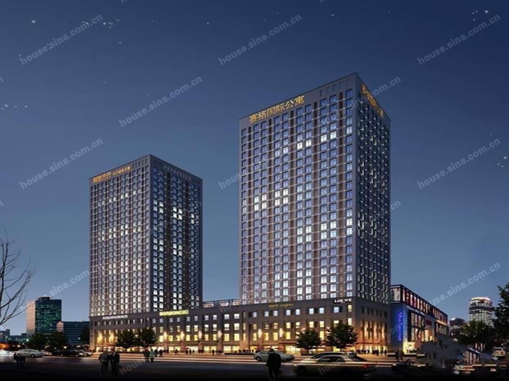 昆山 阿里巴巴电子商务大厦 住宅,外立面3171 高清图片