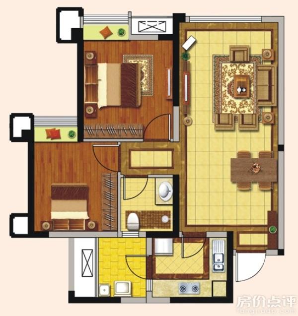 楼高3米,开间2.3米,进深4米,可以做楼梯间吗?求设计图图片