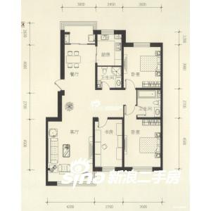 帮忙设计90平米三室一厅的室内装修设计图