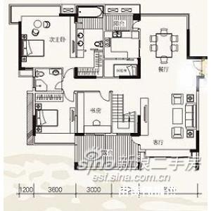 半岛逸景公租房户型图- 京光海景花园租房 12000元 月  4 此房价格便宜,性价比高,真实房图片